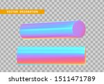 set 3d holographic geometric...   Shutterstock .eps vector #1511471789