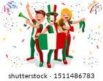 italian flag italy icon  simple ...   Shutterstock .eps vector #1511486783