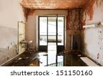 abandoned building  empty room... | Shutterstock . vector #151150160