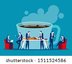 business office people on... | Shutterstock .eps vector #1511524586