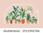 vector illustration in flat... | Shutterstock .eps vector #1511542766