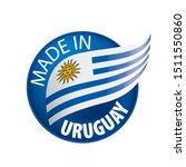 uruguay flag  vector...   Shutterstock .eps vector #1511550860