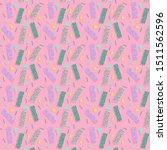 retro 80s pattern seamless tile ... | Shutterstock .eps vector #1511562596