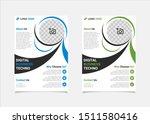 business flyer template vector... | Shutterstock .eps vector #1511580416