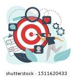 behavioral targeting concept.... | Shutterstock .eps vector #1511620433