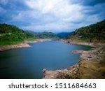 Peaceful Scenery Of Dam...