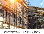 Extensive scaffolding providing ...