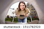 beautiful smiling mother...   Shutterstock . vector #1511782523