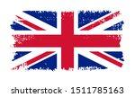 grunge uk flag.vector british... | Shutterstock .eps vector #1511785163