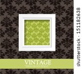 vintage card design for... | Shutterstock .eps vector #151182638