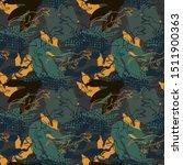 jurassic period  dinosaur... | Shutterstock .eps vector #1511900363