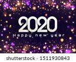 bokeh sparkle christmas 2020...   Shutterstock .eps vector #1511930843