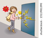 static electricity comes from a ...   Shutterstock .eps vector #1511981390