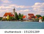Wasserburg at Lake Constance, germany