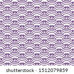 pattern in style of rugby ball  ... | Shutterstock .eps vector #1512079859