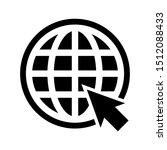 web icon. website vector icon.... | Shutterstock .eps vector #1512088433
