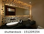 interior design  modern bathroom | Shutterstock . vector #151209254