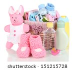 baby accessories isolated on... | Shutterstock . vector #151215728