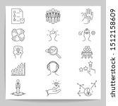 set of business   vector... | Shutterstock .eps vector #1512158609