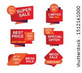 final sale tag collection  set... | Shutterstock .eps vector #1512161000