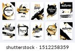 set of autumn ad posters in... | Shutterstock .eps vector #1512258359