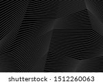 black and white curved... | Shutterstock .eps vector #1512260063
