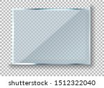 vector modern transparent... | Shutterstock .eps vector #1512322040