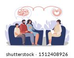 psychotherapy. family... | Shutterstock .eps vector #1512408926