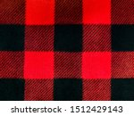 Red And Black Lumberjack Plaid...