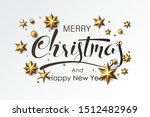 stock vector happy new year and ... | Shutterstock .eps vector #1512482969