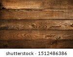 old brown wooden plank . dark...   Shutterstock . vector #1512486386