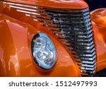 Closeup Of An Orange Classic...