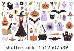 vector mega set of colorful... | Shutterstock .eps vector #1512507539