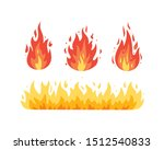 Fire Flame Vector Icons In...