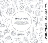 Handmade Banner Template With...
