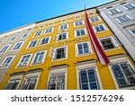 View Of The Facade Of The...