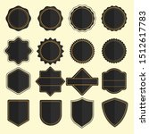 set of badges and labels vector ... | Shutterstock .eps vector #1512617783