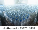 Many Plastic Bottles With...