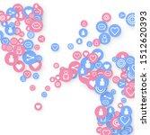 social media marketing ... | Shutterstock .eps vector #1512620393