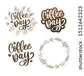 1 october international coffee... | Shutterstock .eps vector #1512642323
