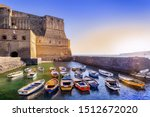 Sunset At Castel Dell Ovo In...