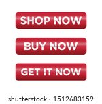 button for a site. shop and buy ... | Shutterstock .eps vector #1512683159