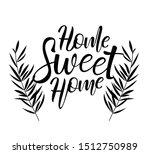 vector lettering illustration.... | Shutterstock .eps vector #1512750989