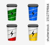 Editable Coffee Cups Displayed...
