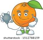 Doctor Orange Fruit Cartoon...