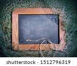fishing net adorning a black... | Shutterstock . vector #1512796319