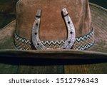 steel classic horseshoe lying... | Shutterstock . vector #1512796343