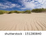Dunes On A Beach In Leba  Poland