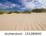 Dunes On A Beach In Leba  Poland