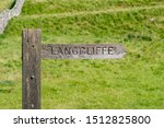 Signpost Showing The Route To...